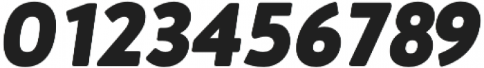 Brooklyn Heritage Sans Black Italic otf (900) Font OTHER CHARS