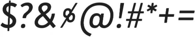 Brooklyn Heritage Sans Cn Regular Italic otf (400) Font OTHER CHARS