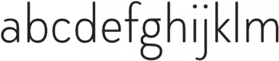 Brooklyn Heritage Sans Cn Thin otf (100) Font LOWERCASE