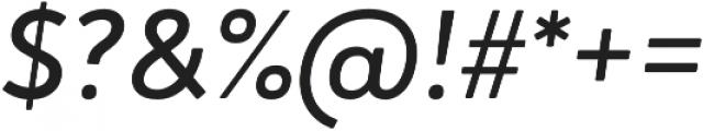 Brooklyn Heritage Sans Regular Italic otf (400) Font OTHER CHARS