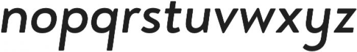 Brooklyn Heritage Sans Regular Italic otf (400) Font LOWERCASE