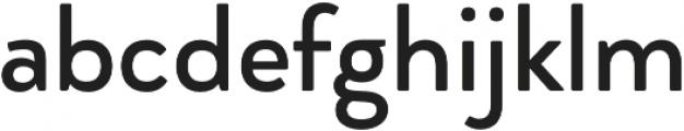 Brooklyn Heritage Sans otf (400) Font LOWERCASE