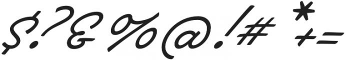 Brooklyn Heritage Script otf (400) Font OTHER CHARS