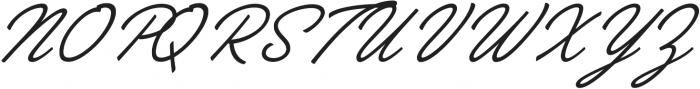 Brooklyn Heritage Script otf (400) Font UPPERCASE