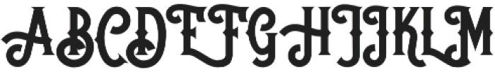 Brooks Bros: Douglas otf (400) Font UPPERCASE