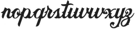 Brooks Bros: Matthew otf (400) Font LOWERCASE