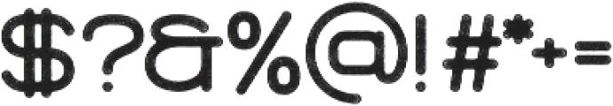 Brookset Rough otf (400) Font OTHER CHARS