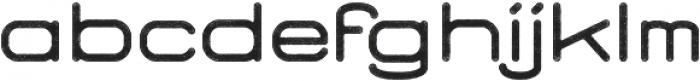 Brookset Rough otf (400) Font LOWERCASE