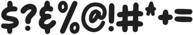 Broom otf (400) Font OTHER CHARS