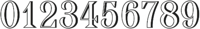 Broondy Shadow ttf (400) Font OTHER CHARS