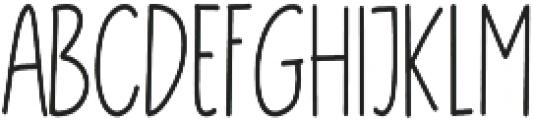 Brostars Sans otf (400) Font UPPERCASE