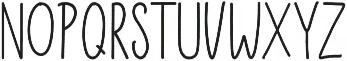 Brostars Sans otf (400) Font LOWERCASE
