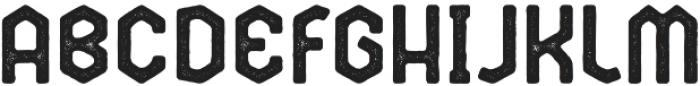 Broster Rough otf (400) Font UPPERCASE