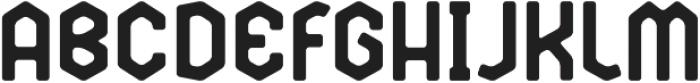 Broster otf (400) Font UPPERCASE