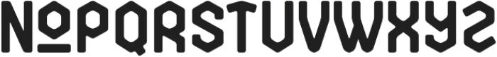 Broster otf (400) Font LOWERCASE