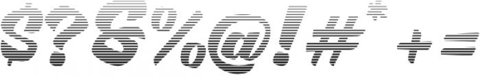 Brotha Script Gradient otf (400) Font OTHER CHARS