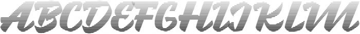 Brotha Script Gradient otf (400) Font UPPERCASE