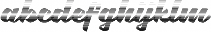 Brotha Script Gradient otf (400) Font LOWERCASE