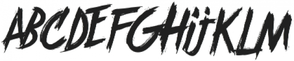 Brother In Crime otf (400) Font LOWERCASE