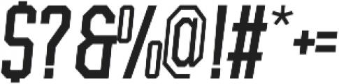 BrotherJhonBoldItalic ttf (700) Font OTHER CHARS