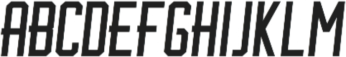 BrotherJhonBoldItalic ttf (700) Font UPPERCASE