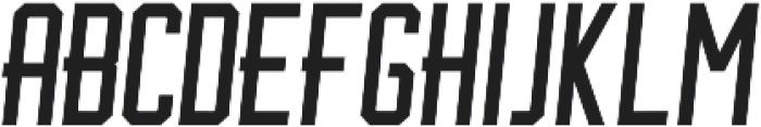 BrotherJhonBoldItalic ttf (700) Font LOWERCASE