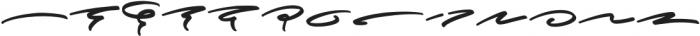 Brotherhood Swashes otf (400) Font UPPERCASE