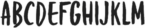 Brownie Helper otf (400) Font LOWERCASE
