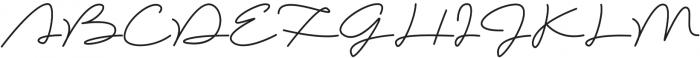 Brownie Script Alt otf (400) Font UPPERCASE