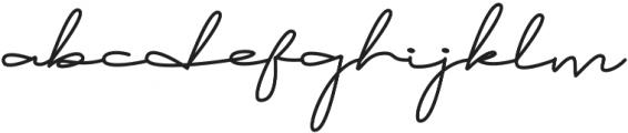 Brownie Script Alt otf (400) Font LOWERCASE