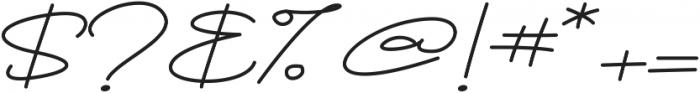 Brownie Script Alt ttf (400) Font OTHER CHARS