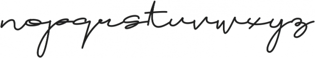 Brownie Script Alt ttf (400) Font LOWERCASE