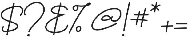 Brownie Script otf (400) Font OTHER CHARS