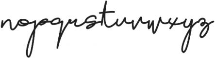 Brownie Script otf (400) Font LOWERCASE