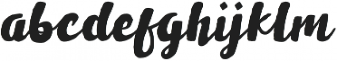 Brownies Typeface otf (400) Font LOWERCASE