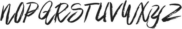 Brownight Script otf (400) Font UPPERCASE