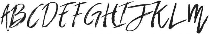 Brownight Script ttf (400) Font UPPERCASE