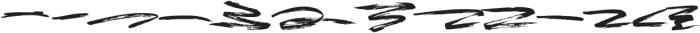Brownight Swash otf (400) Font LOWERCASE