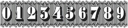 Bruce 1490 ttf (400) Font OTHER CHARS