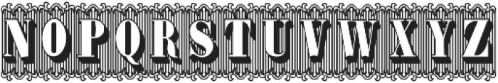 Bruce 1490 ttf (400) Font UPPERCASE