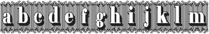 Bruce 1490 ttf (400) Font LOWERCASE