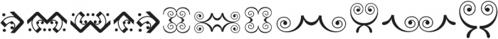 Bruce Ornaments Collection ttf (400) Font UPPERCASE
