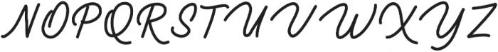 Brulle otf (400) Font UPPERCASE