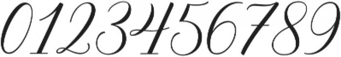 Brunella Style Upright otf (400) Font OTHER CHARS