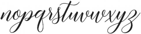 Brunella Style Upright otf (400) Font LOWERCASE