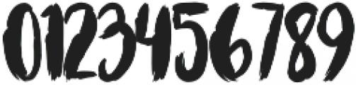 Bruscheetah otf (400) Font OTHER CHARS