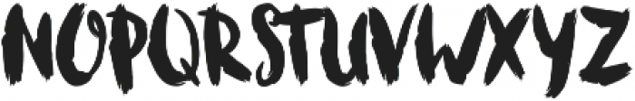 Bruscheetah otf (400) Font UPPERCASE