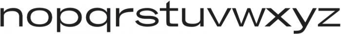 Brusco Regular otf (400) Font UPPERCASE