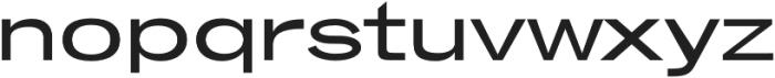 Brusco Semi-Bold otf (600) Font LOWERCASE