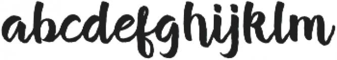 Brush Stroke otf (400) Font LOWERCASE